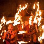 Fête Renaissance 2017 spectacle de feu vue générale