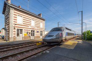 L'Herbergement en Vendée : la gare