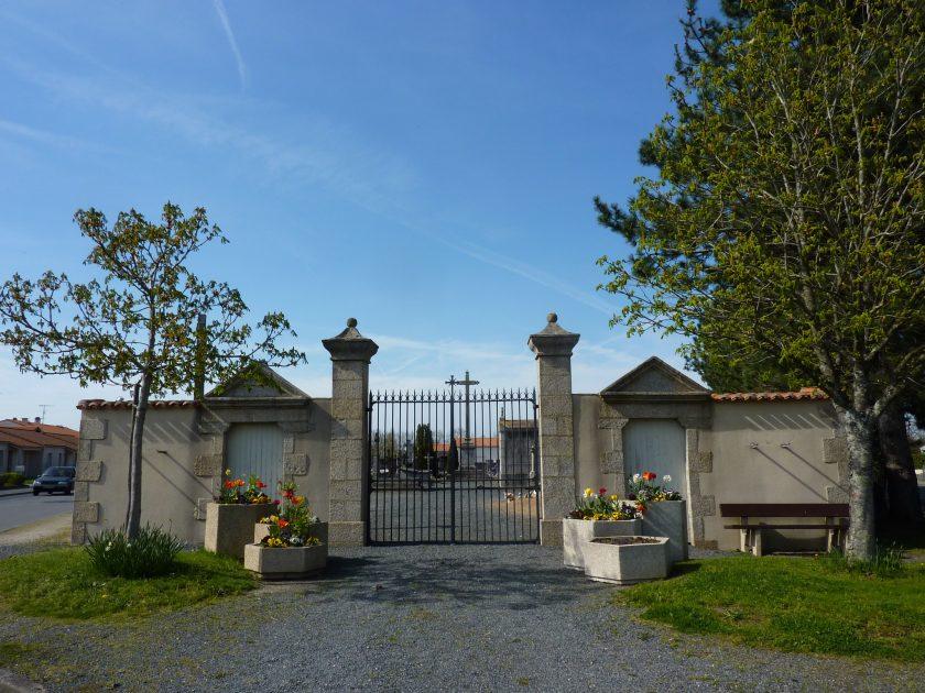 vue générale du cimetière de LHerbergement