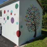 sanitaires Val de Loire peint par le CME