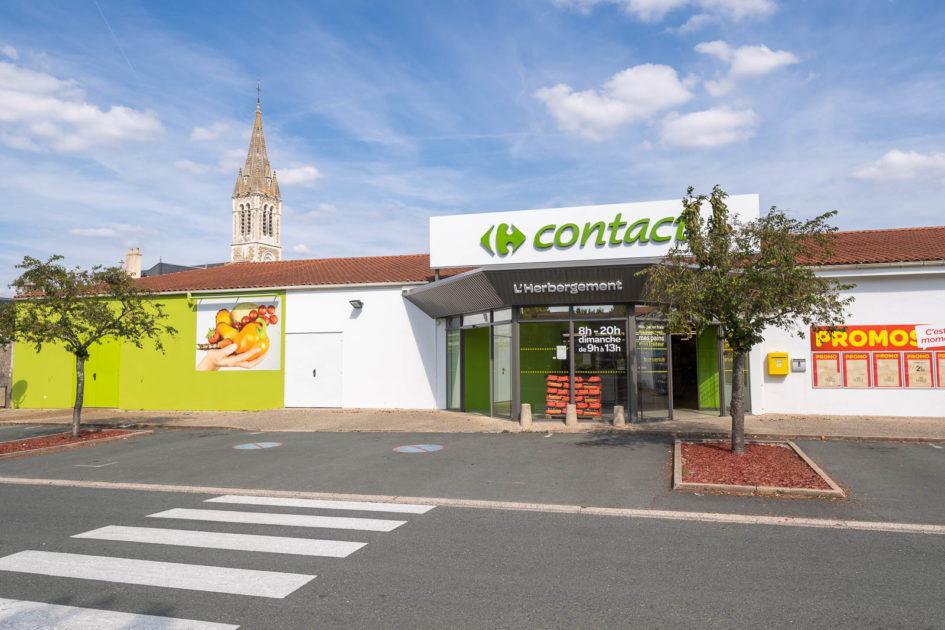 Carrefour Contact L'Herbergement