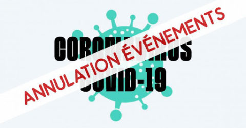 covid annulation évènements